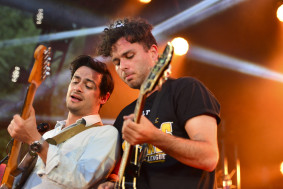 The Arkells rock the Coke Stage at the Calgary Stampede in Calgary, Alta on Saturday Jul 11, 2015. Gavin John/STR/Calgary Sun