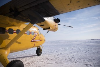 "A RCAF CC-138 Twin Otter from the 440 ""Vampire"" Transport Squadron prepares to take off during Operation Nunalivut near Resolute,NU on Saturday Apr 9, 2016. Operation Nunalivut featured over 200 personal from every branch of the Canadian Forces and military partners from the United States and Denmark. Gavin John/Special to PostMedia Network"
